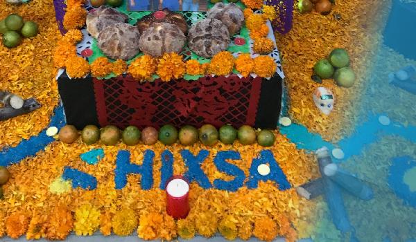 Nuestra tradicional ofrenda HIXSA 2019